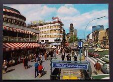 Foto AK Berlin Kurfürstendamm Auto Leute Farbfoto ca. 1969