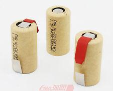 20Pcs Ni-Cd Sub C SC 1.2V 1800mAh Power tools Rechargeable Battery w/tab U/R
