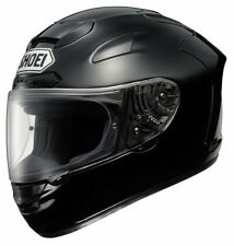 Shoei X-Spirit 2 Plain Full Face Motorbike Motorcycle Helmet Black X-Large