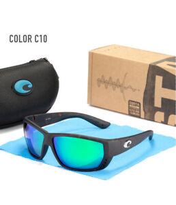 Costa sunglasses outdoor polarized fishing glasses tr90 comfortable silicone new
