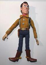 "Disney Pixar Toy Story Woody Talking Pull String Doll 15"""