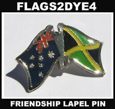 Australia flag Jamaica Jamaican flag pin badge + AUSTRALIA POST TRACKING