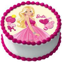 Fashion Barbie Dreamhouse Eßbar Tortenaufleger Geburtstag Party Deko dvd neu