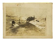 1929 Photo of Ramon Franco's Dornier J Seaplane from HMS Eagle