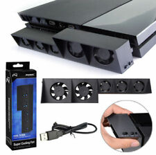 PS4 5-Fan Playstation Cooling External Turbo Temperature Control Cooler USB