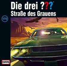 DIE DREI ??? - 170/STRAßE DES GRAUENS  CD NEU