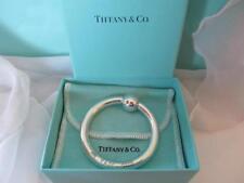 Tiffany & Co. Baby Rattle 1837 Ring Style Designer Signed