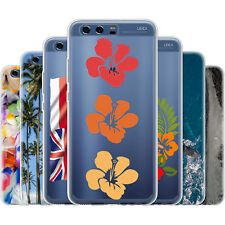 Dessana Hawaii Flowers Silicone Protection Cover Case Phone For Huawei