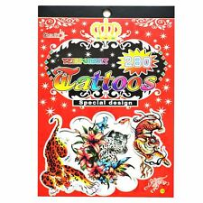 Temporary Red Tattoos Kids Party Bag Fillers Waterproof Non Toxic Child Sticker