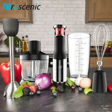 Proscenic Immersion Hand Blender 800W Smart speed Mixer Kitchen Processor Whisk