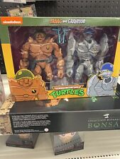 NECA Traag and Granitor 2-Pack Teenage Mutant Ninja Turtles Target Exclusive