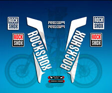 PEGATINAS HORQUILLA STICKERS FORK ROCKSHOX REBA 2016 AM33 STICKERS AUFKLEBER