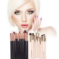 12Pcs Rose Gold Makeup Brush Set Foundation Powder Eyeshadow Eye Brushes Tool