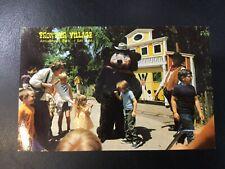 Frontier Village Amusement Park San Jose Theodore Bear postcard