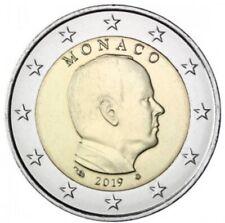 Piece De 2€ Euro Prince Albert II Monaco 2019 Neuve