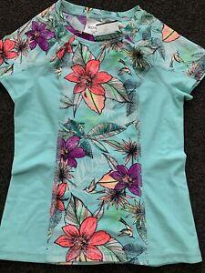 ROXY GIRLS Wet Shirt Size 6 RASHIE/ RASH VEST NEW with tags SWIMWEAR