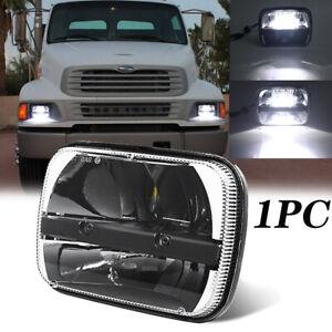 105W 7x6 5x7 LED Headlight Hi/Lo Sealed Beam For Sterling Truck LT9500 1999-2008