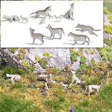 Busch 1193 Wolfsrudel Figuren HO
