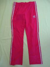 Pantalon Adidas Originals Rose et argent Femme Style vintage Survetement - 36