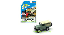 1980 Toyota Land Cruiser Cream Soft Top 1/64 Scale By Johnny Lightning JLCP7031