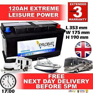 12V 120ah AMPIO CICLO batteria DEEP-CYCLE, ROULOTTE, CAMPER, BARCA for life