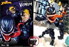 BEAST KINGDOM Egg Attack Action EAA-087 Venom Figure Marvel Comic Spider-Man