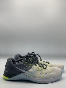 Nike WMNS Metcon DSX Flyknit 849809-100 White/Blue Women's Training Shoes Sz 9.5