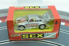 MATCHBOX SCX 1993 83490.20 PORSCHE 911 (1996) CHEREAU SILVER 1/32 SLOT CAR