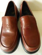 Women's DANSKO Brown Slip On Embossed Loafers Clogs Shoes Size 39 EUR 8.5 US Med