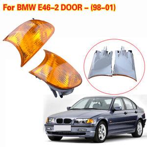 Car Corner Turn Signal Light For BMW E46 3 Series Coupe M3 323Ci 325Ci 328Ci