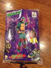 Teenage Mutant Ninja Turtle Costume Raphael- size 3-4 will fit up to 4-6