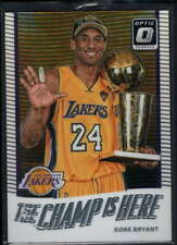 2017-18 DONRUSS OPTIC KOBE BRYANT #6 PRIZM THE CHAMP IS HERE C7817