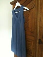 Athleta stretch dress size small blue pretty!