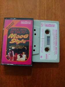 Great Hits Of The Seventies Moog Style VG (Music Cassette tape 3470413)