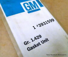 GM 3931599 Chevy SB Oil Pan Gasket Kit, DZ, 302, 327, 350, Right & Left Gaskets