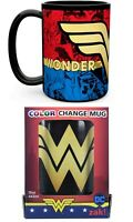 NEW SEALED Zak DC Comics Wonder Woman Color Changing Coffee Mug