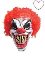 Rubie's Bm461 Maschera Clown Horror con Parrucca Taglia unica
