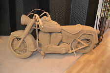 Large Wicker Harley Davidson Motorbike for Sale, Excellent Condition