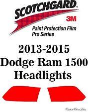 3M Scotchgard Paint Protection Film Pro Series Pre-Cut 2013 2015 Dodge Ram 1500