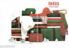 PUBLICITE ADVERTISING 116  1994  Fasicule (8p) Lacoste chemises chaussures acces