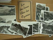 SNAP SHOT SOUVENIR ALBUM 24 REAL PHOTOGRAPH VIEWS PYRENEES FRANCE