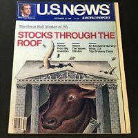 VTG US News & World Report Magazine December 16 1985 - Great Bull Market of 1985