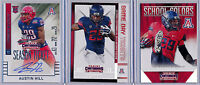AUSTIN HILL - 2015 Contenders Draft Picks Auto & Insert Lot (3) - Arizona