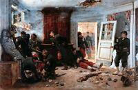 The Last Cartridges Painting by Alphonse de Neuville Art Reproduction