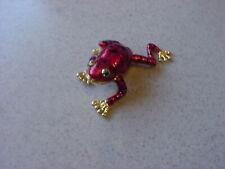 New ListingMiniature Frog Jewelry Box/Pill Box.