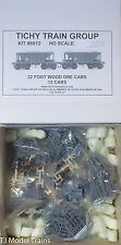 Tichy Train Group #6012 (HO Scale)22' Wood Ore Car 12-Pack - Kit -- Undecorated