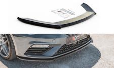 CUP Spoilerlippe für Seat Leon MK3 Cupra FR FL Frontspoiler Spoilerschwert V4