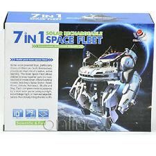 7 en 1 Estación espacial Solar Juguete Creativo a1512