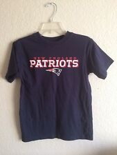 NFL New England Patriot Youth M 10/12 T-shirt Reebok Team Apparel Preowned