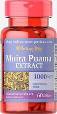 PURITANS Pride Muira puama extracto 1000 mg X60 comprimidos hierba tradicional para hombres